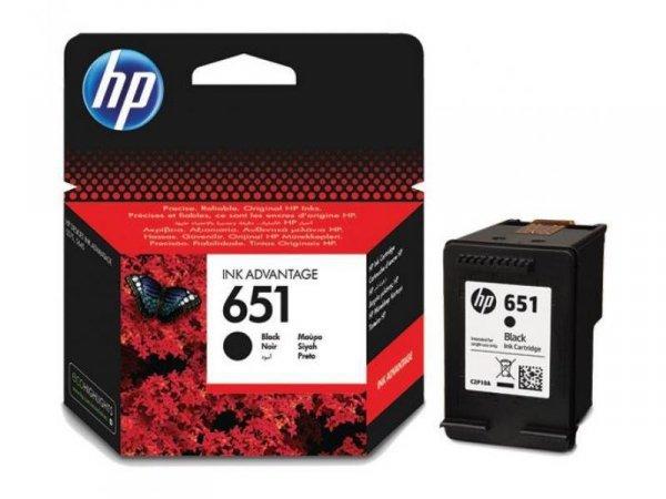 Tusz HP 651 Black