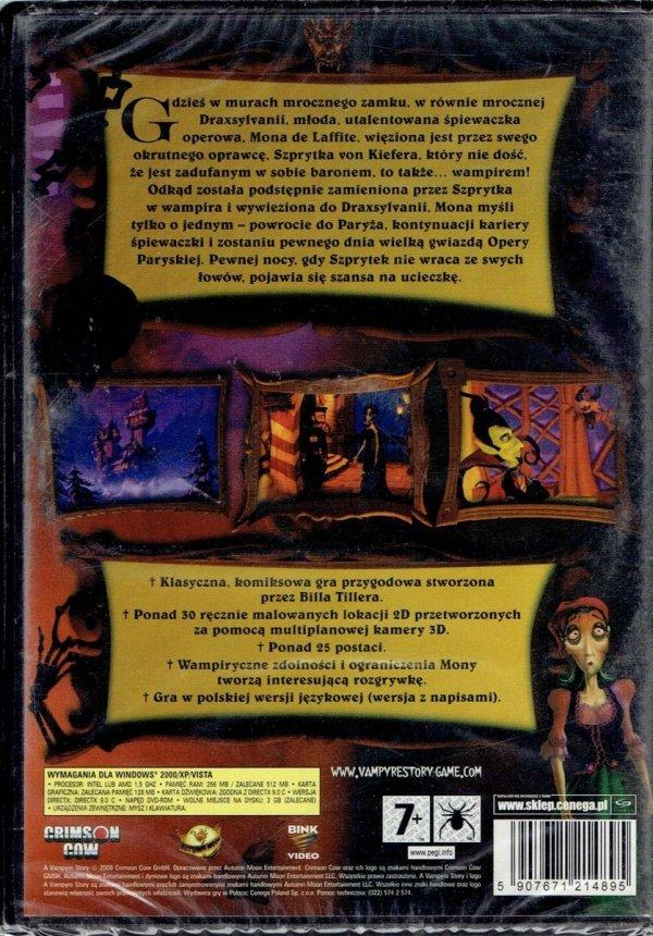 A VAMPYRE STORY PC DVD