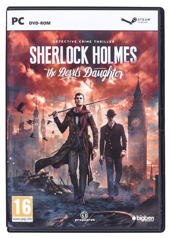 Gra PC Sherlock Holmes: The Devil's Daughter PL
