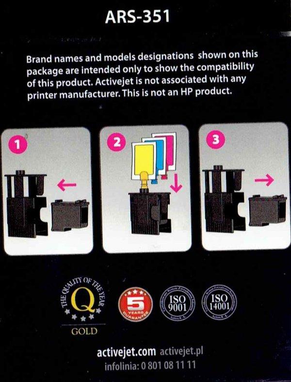 REFILL HP ARS-351    KOL.6x4ml.tył