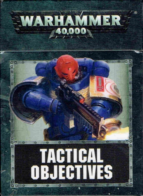 Warhammer 40000(8th) TACTICAL OBJECTIVE CARDS (ENG) front