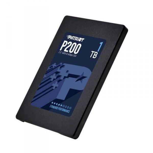 """Dysk SSD 1TB 2.5"""" Patriot P200 SATA3 (530/460 MB/s) 7mm"""