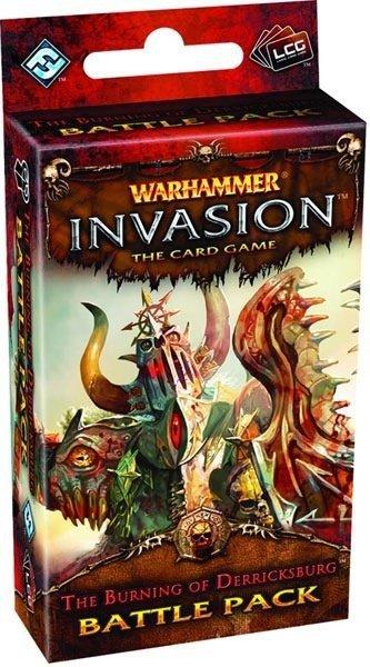 Warhammer Invasion LCG: The Burning of Derricksburg Battle Pack Wydanie angielskie