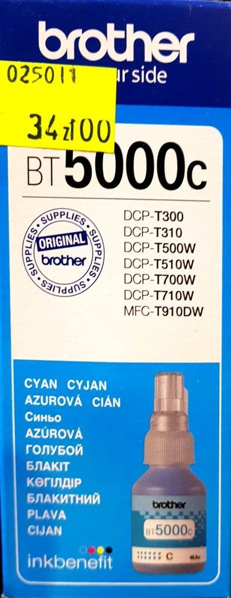 Tusz Brother BT5000C Cyan