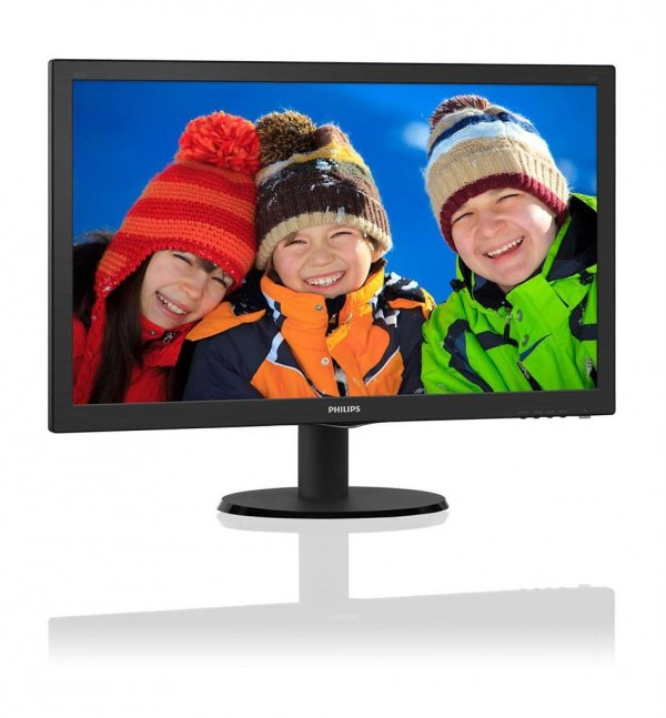 Monitor Philips 223V5LHSB2/00 21.5'', D-Sub/HDMI