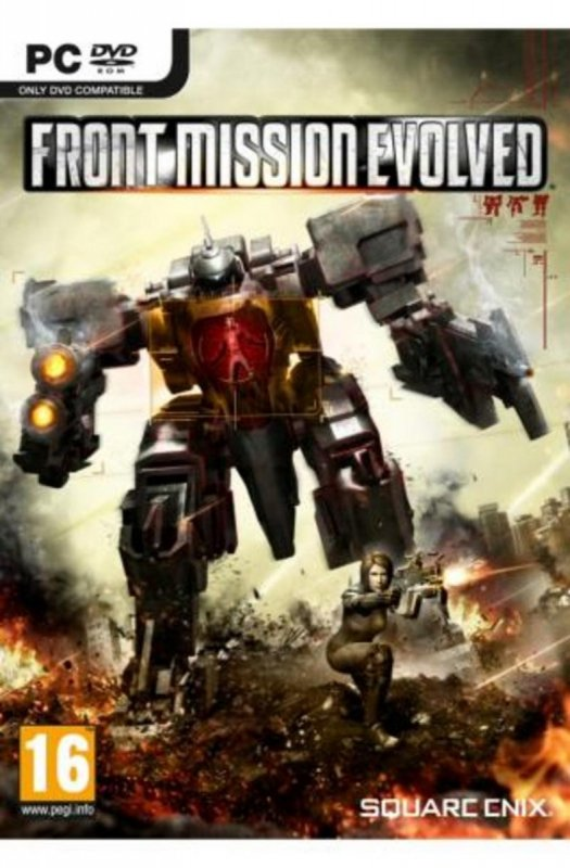 FRONT MISSION EVOLVED      DVD