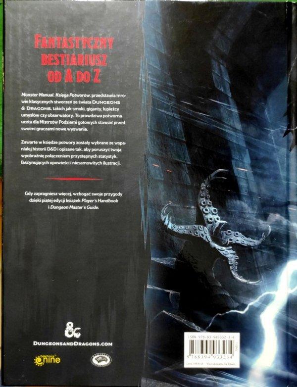 Dungeons & Dragons: Monster Manual (Księga Potworów) 5.0 PL