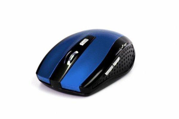 Mysz bezprzewodowa Media-Tech RATON PRO MT1113B optyczna czarno-niebieska
