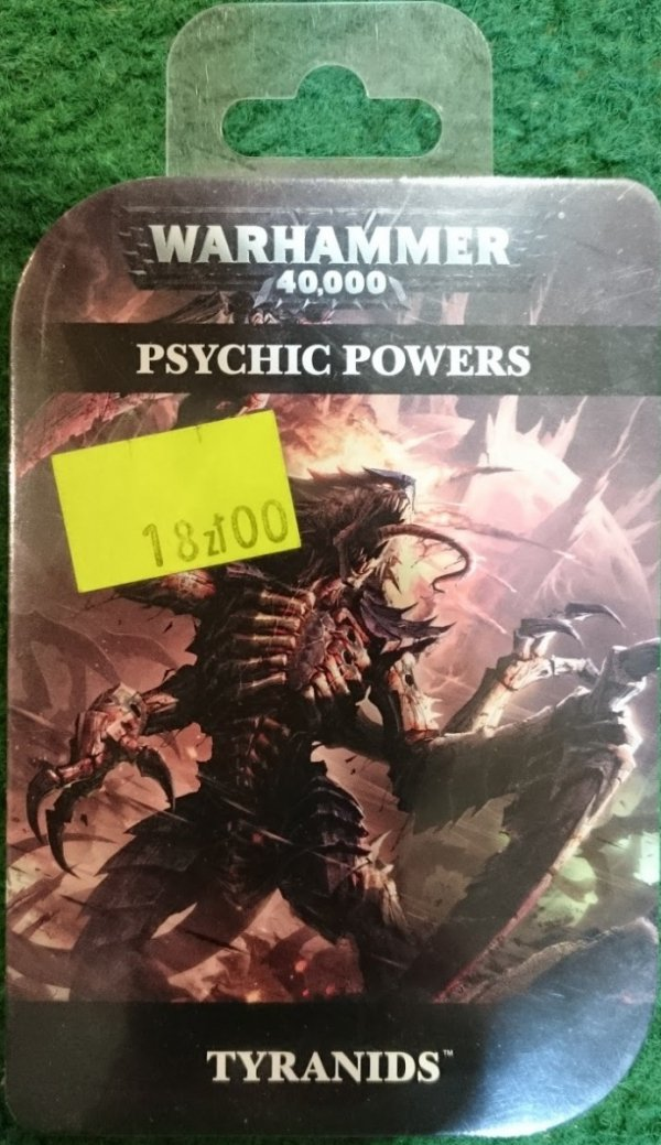 PSYCHIC CARDS TYRANIDS
