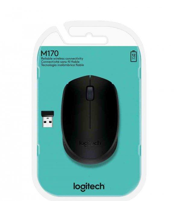 Logitech Wireless Mouse M171, Czarna
