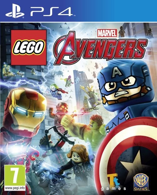 LEGO MARVELS AVENGERS PL PS4