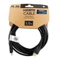 KABEL HDMI-HDMI V1.4 GOLD   5m