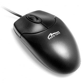 OPTICAL MOUSE - Standardowa myszka optyczna, 3 przyciski + rolka, 800 cpi, PS/2
