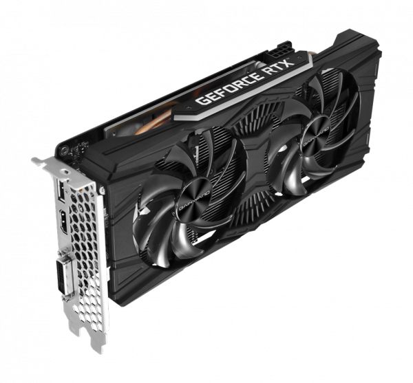 Karta graficzna GeForce RTX 2060 6GB Ghost OC, 6GB GDDR6, HDMI, DP, DVI GAINWARD 426018336-4412