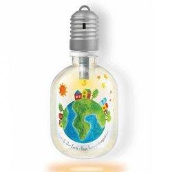Recykling - lampka z butelki