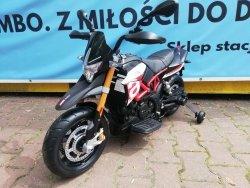 APRILIA DORSODURO 900 Motor na akumulator Czarno-Czerwony