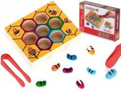 Gra edukacyjna plaster miodu pszczoły montessori