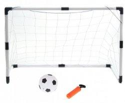 Bramki piłkarskie dla dzieci 2w1 (2szt-125x60x92cm/1s<br />zt-233x150x92cm) + piłka + pompka