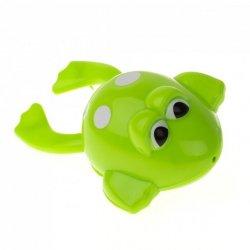 Zabawka do kąpieli nakręcana pływająca żabka