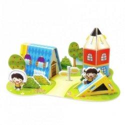 Puzzle 3D tekturowe plac zabaw