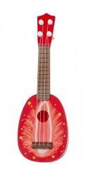 Gitara ze strunami Owoce Truskawka 36cm