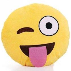 Poduszka Dekoracyjna  Emotki Emoji - tongue