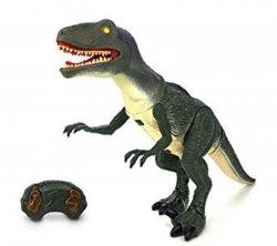 Dinozaur Velociraptor RC + dźwięki