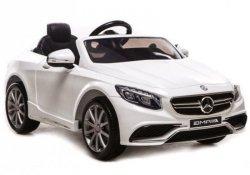 Auto na akumulator Mercedes S63 AMG Biały