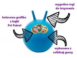 Piłka do skakania PSI PATROL - super zabawa i zdrowy rozwój motoryczny