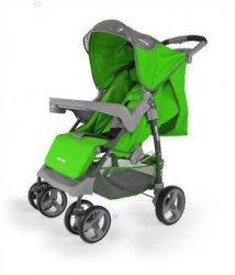 Spacerówka Milly-Mally VIP zielona - maksimum komfortu