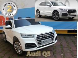 Pojazd na Akumulator Nowe Audi Q5 2-osobowe Białe