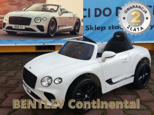 Bentley Continental LIMUZYNA na akumulator dla dzieci KLASA PREMIUM