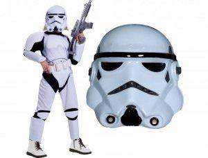 Kostium SZTURMOWIEC STAR WARS 140 - Twój syn bez problemu stłumi każdy bunt w Galaktyce!