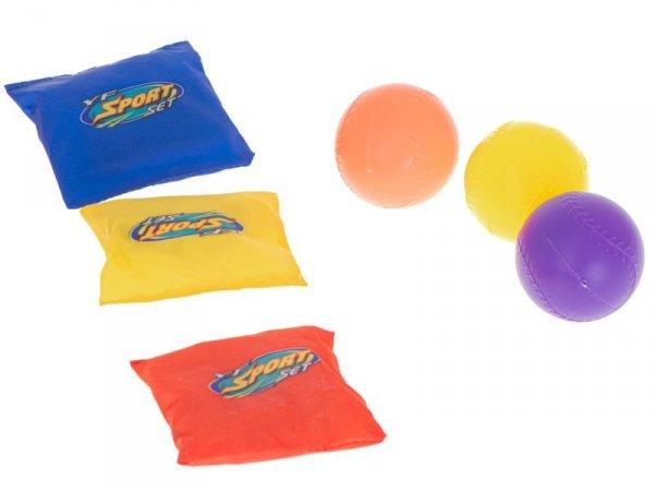 Rzut do celu woreczkami rzutki gra zręcznościowa