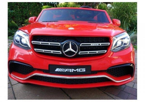 Auto Na Akumulator Mercedes GLS63 Czerwony