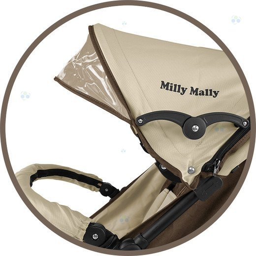 Spacerówka Parasolka Milly-Mally ROYAL zielona - komfort i elegancja