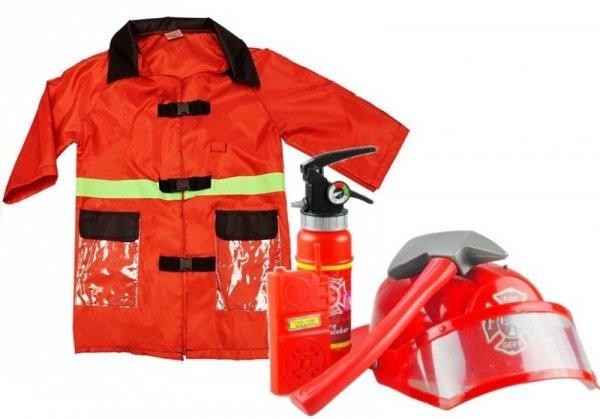 Kostium Strażaka z wyposażeniem