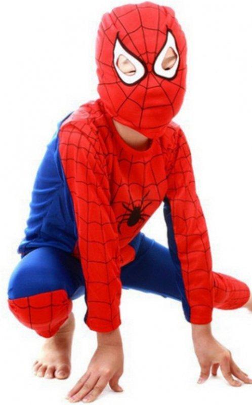 Strój spiderman zbliżenie