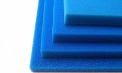 Wkład Filtracyjny Gąbka 20X20X5 20PPI Niebieska