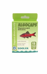 Zoolek Algocaps Antyglon, Klarowanie Wody12 Kapsułek