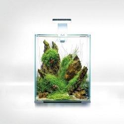 Aquael Shrimp Set 20L Biały Day/Night 25x25x30cm