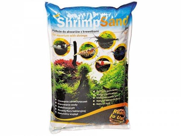 Aqua Art Shrimp Sand 4kg Brązowe Idealne Podłoże dla Krewetek