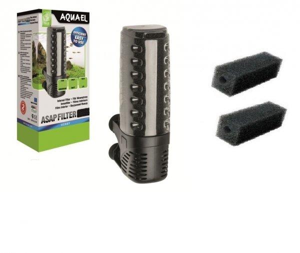 Aquael Filtr Wewnętrzny Asap 500 do 150L 3xGąbka