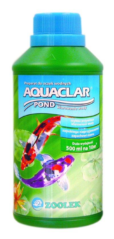 Zoolek Aquaclar Pond Plus Oczko Wodne 1000Ml Na Mętną Wodę Klaruje