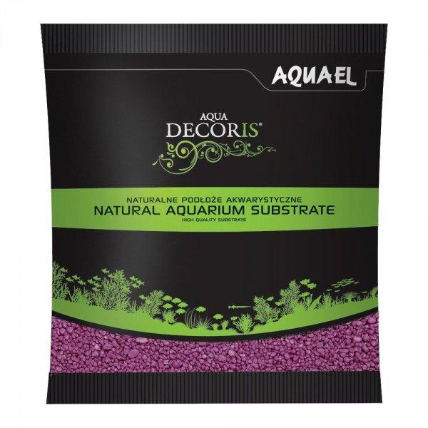 Aquael Żwirek Aqua Decoris Fuksja 1 KG