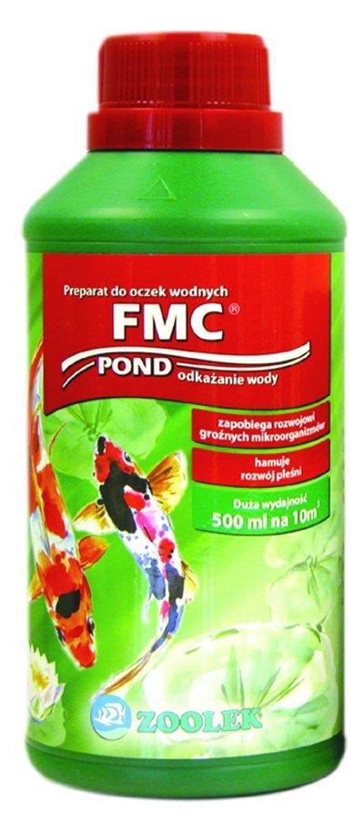 Zoolek Fmc Pond Oczko Wodne 1000Ml Na Ospę Pleśniawkę Choroby