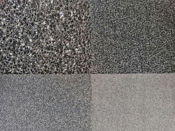 Wkład Filtracyjny Gąbka 25X25X1 30Ppi CZARNA