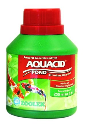 Zoolek Aquacid Pond Oczko Wodne 250Ml Obniża Ph, Kh
