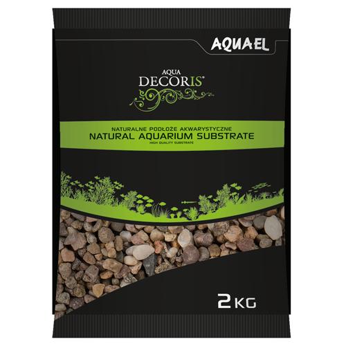Aquael Żwir Naturalny Wielobarwny 5-10 mm 10 kg
