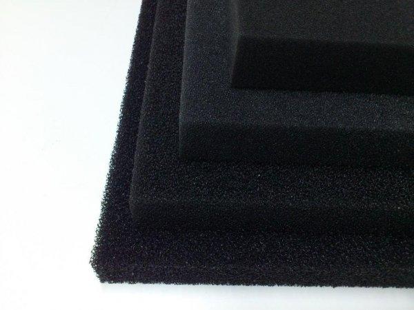 Wkład Filtracyjny Gąbka 20X20X5 30PPI Czarna